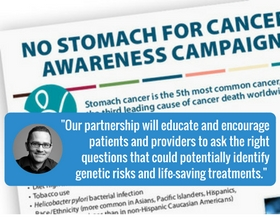 Helping Families Affected by Stomach Cancer