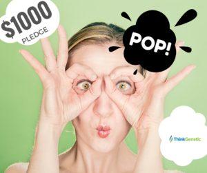 $1000 Pledge