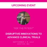 "ThinkGenetic CEO ""Disruptor"" to Discuss the Patient Perspective of Advancing Clinical Trials"
