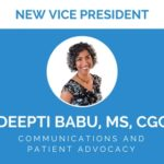 ThinkGenetic Announces Deepti Babu, MS, CGC as Vice President of Communications and Patient Advocacy