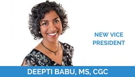 Deepti Babu, MS, CGC Joins ThinkGenetic