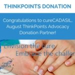 ThinkGenetic Donates $500 to Advocacy Partner, cureCADASIL