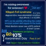 Awareness - Klippel-Feil syndrome - ThinkGenetic