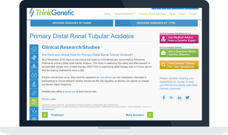Primary Distal Renal Tubular Acidosis - Blog - Image