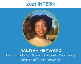 Introducing New Intern: Aaliyah Heyward